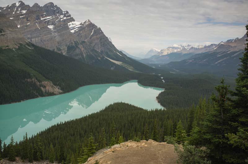 Peyto Lake, Banff NP, Kanada