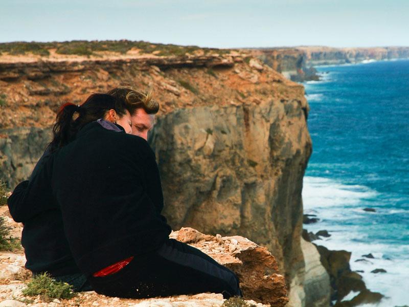 Wir an der Steilküste, Australien