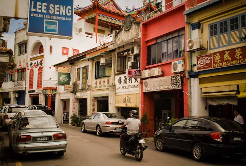 Carpenter Street, Kuching, Malaysia