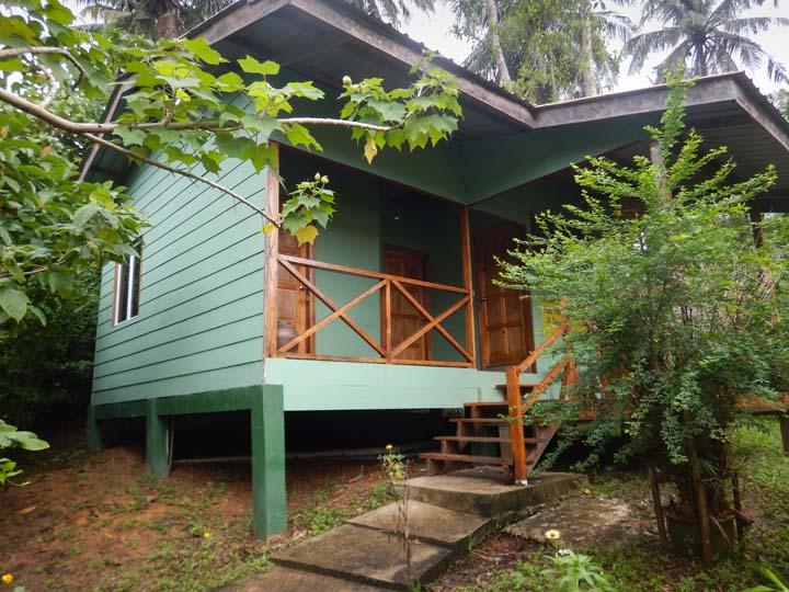 Kabine mit Doppelzimmern im Dschungelcamp