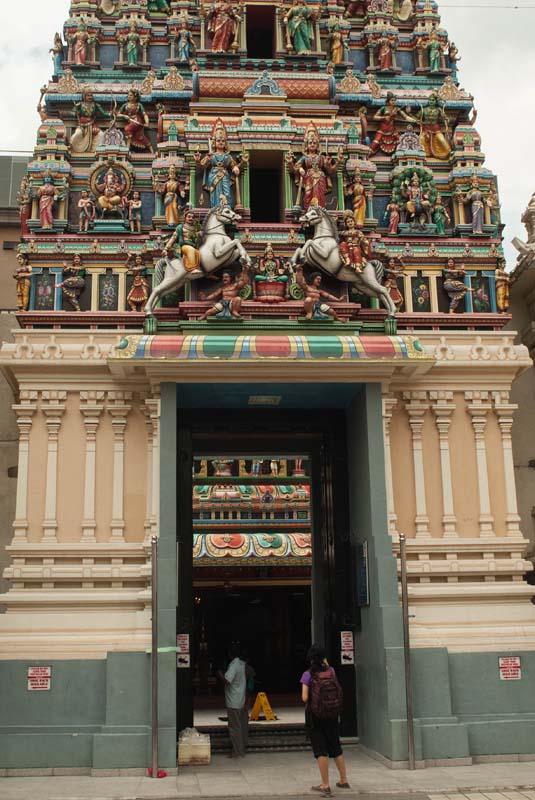Indischer Tempel, Little India, Kuala Lumpur