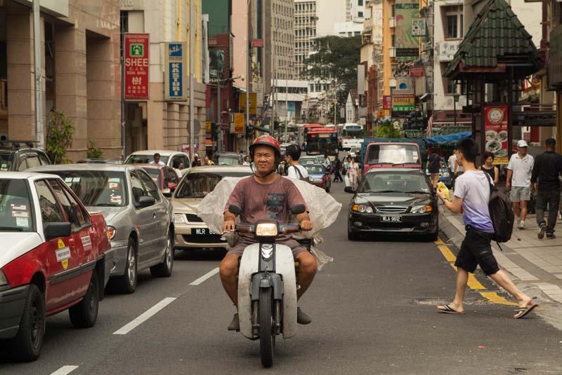Straße nach Chinatown, Kuala Lumpur