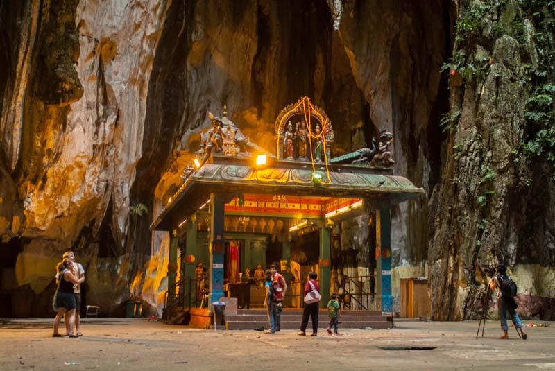 Hindu Tempel in den Batu Caves, Kuala Lumpur