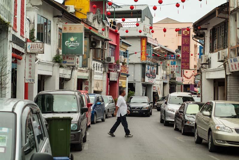 Kuching - Carpenter Street