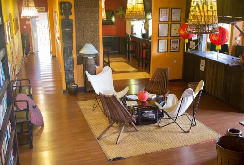 Kuching Unterkunft Gemeinschafts Lounge