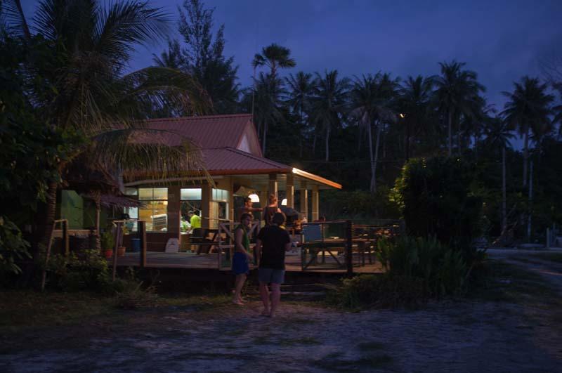 Tip Top Restaurant am Abend
