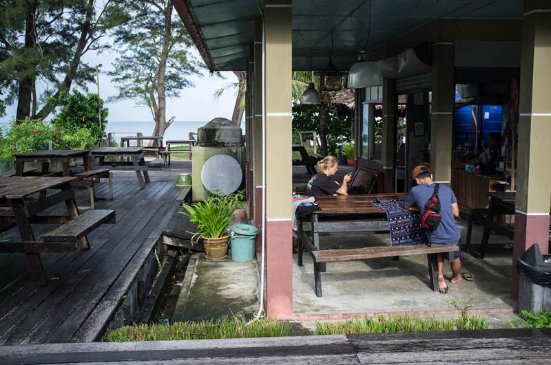 Tip Top Restaurant am Strand