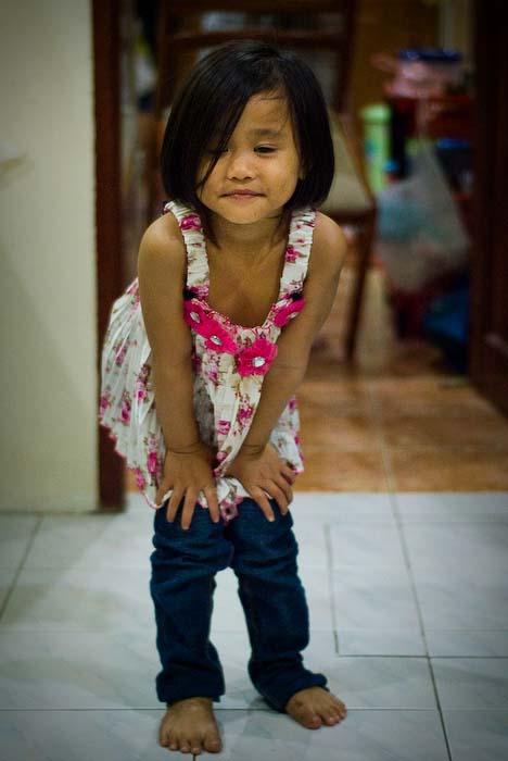 Airyn in Modelpose, Kuching, Borneo, Malaysia
