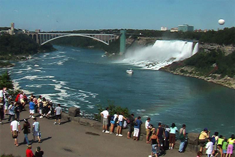Amerikanischer Teil der Niagara Fälle, Ontario, Kanada