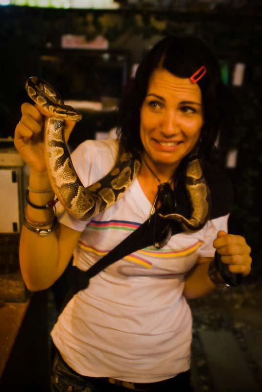 Anne liebt Schlange, Kuala Lumpur, Malaysia
