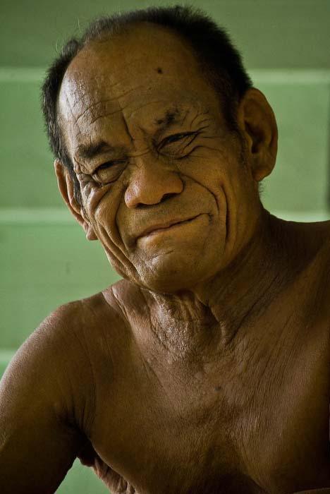 Joseph vom Stamm der Bajau, Mulu Nationalpark, Borneo, Malaysia