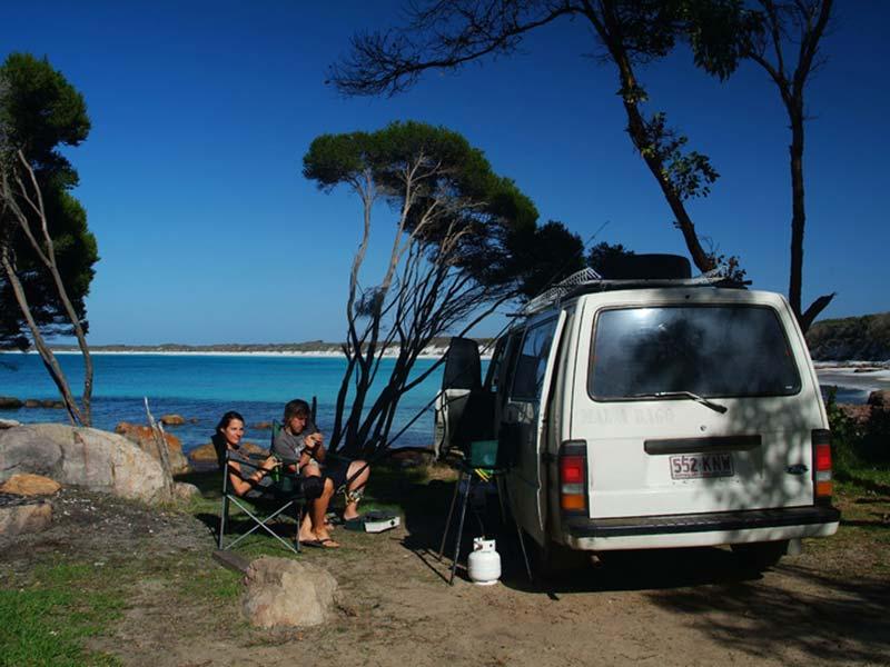 Camping an der Traumbucht