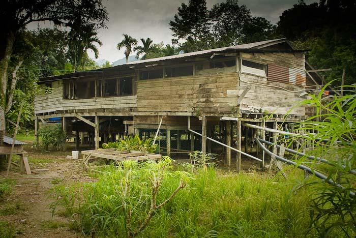 Das Haus als Homestay, Mulu Nationalpark, Borneo, Malaysia