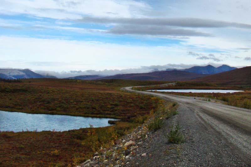 Dempster Highway, Yukon, Kanada