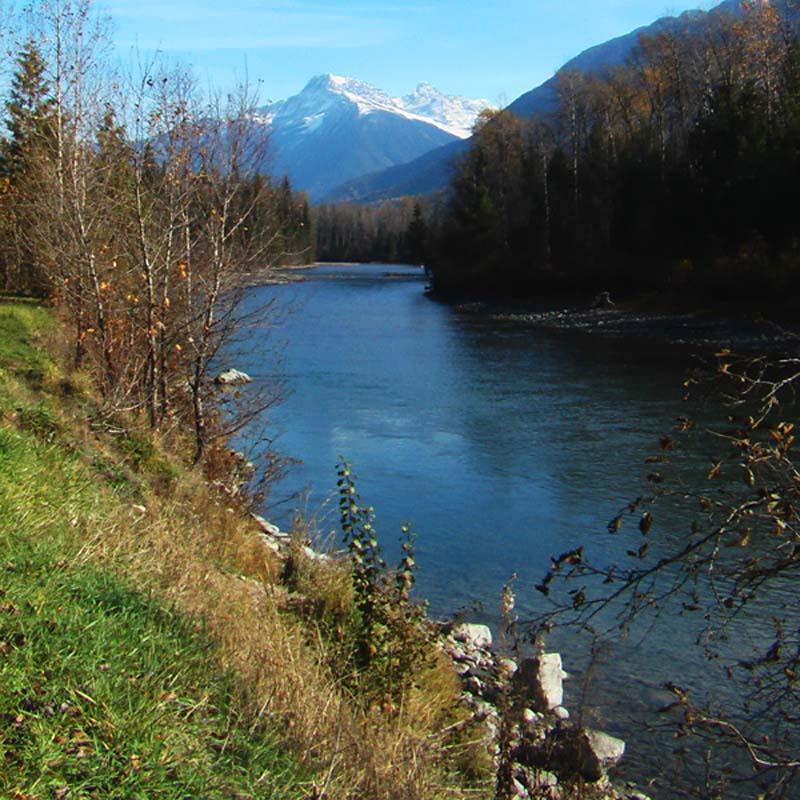 Die Rocky Mountains, British Columbia, Kanada