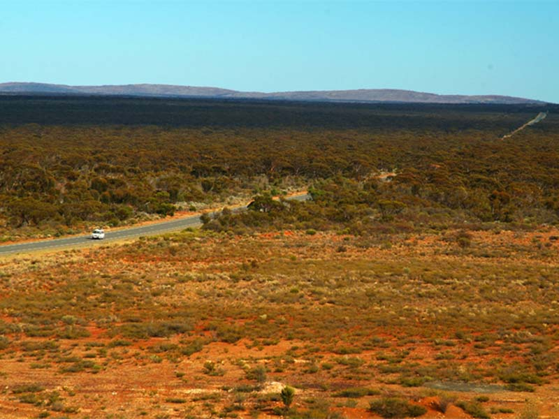 Die Weiten der Nullarborwüste