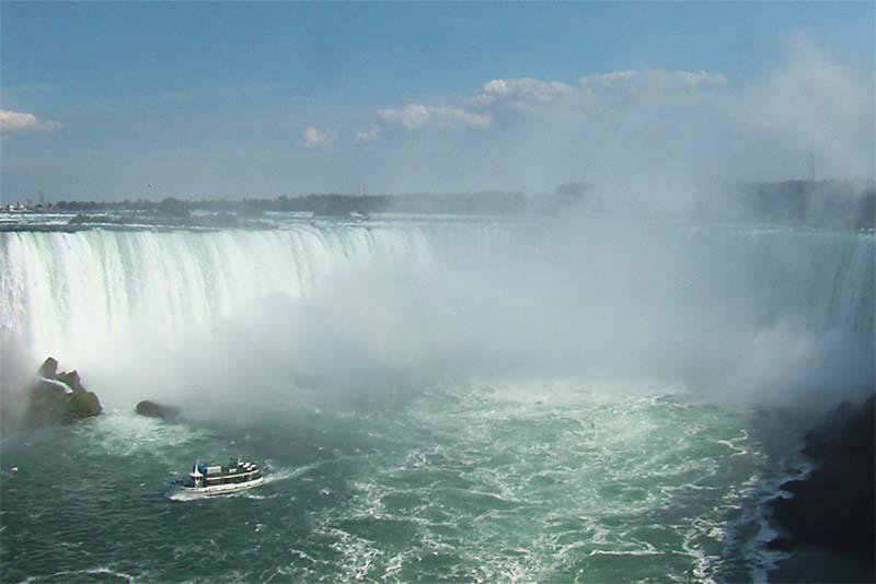 Die kanadische Seite der Niagara Fälle, Ontario, Kanada