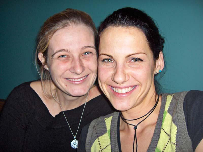Die liebe Tania und Anne, Halifax, Nova Scotia, Kanada