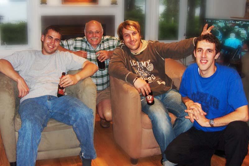 Eine tolle Truppe, Benny, Pat, Bunki und Jaron, Halifax, Nova Scotia, Kanada