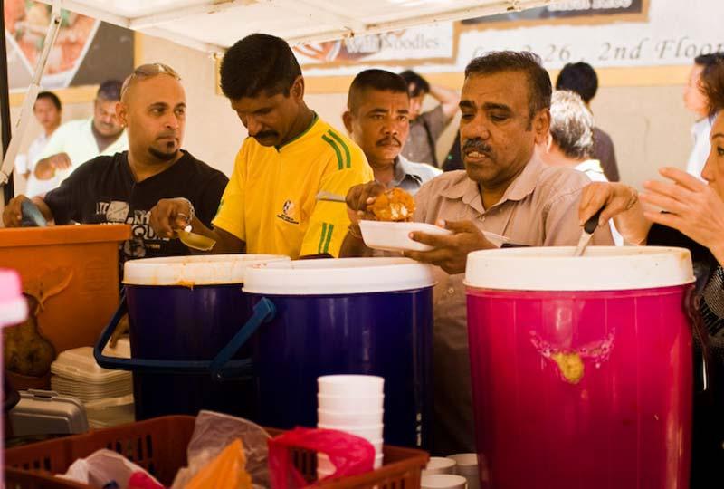 Essenausgabe für Arme, Kuala Lumpur, Malaysia