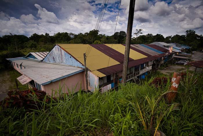 Iban Langhaus, Sarawak, Borneo