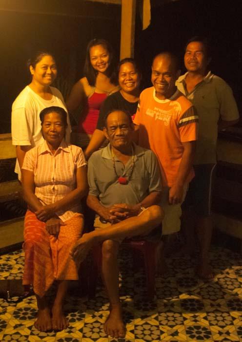 Josephs Familie, Mulu, Borneo Malaysia