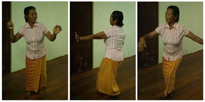 Lanan beim Tanzen, Mulu, Borneo Malaysia