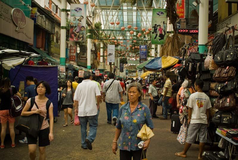Markt in Chinatown, KL, Malaysia