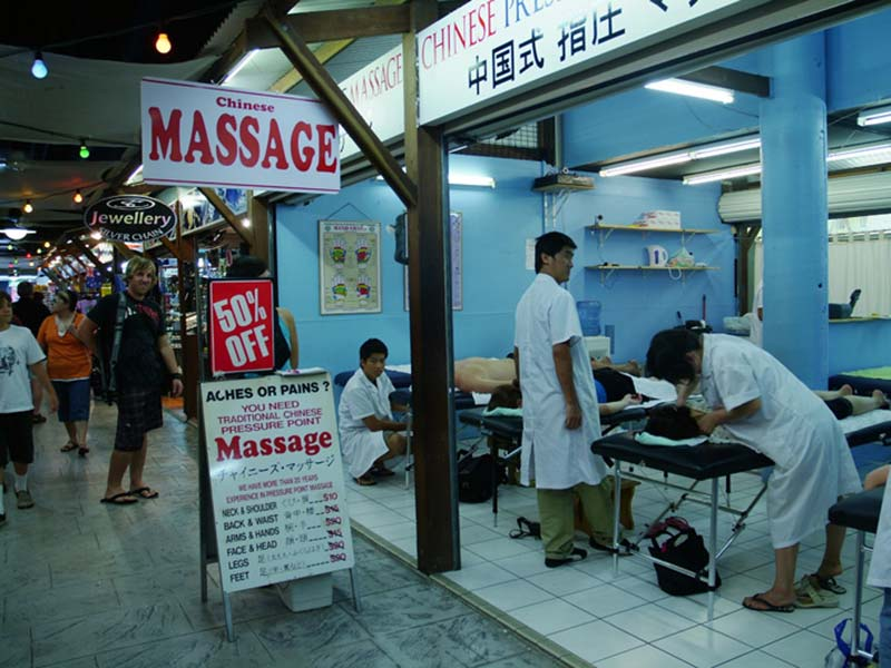 Massagealptraum in Cairns, Australien