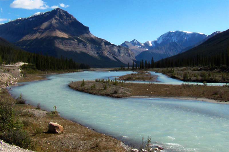 Rocky Mountains, Alberta, Kanada