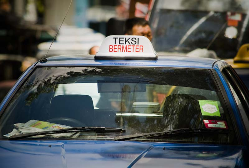 Teksi = Taxi, Malaysia