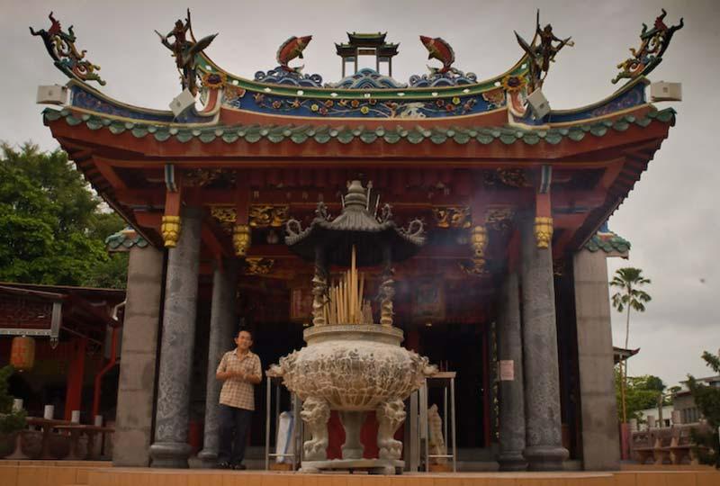 Tempel in Kuching, Malaysia