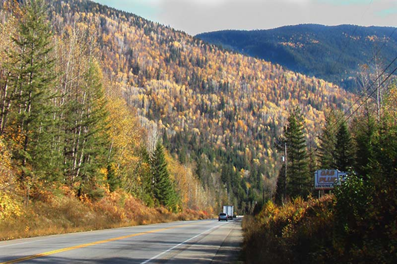 The Indian Summer, Herbst in Kanada, British Columbia, Kanada