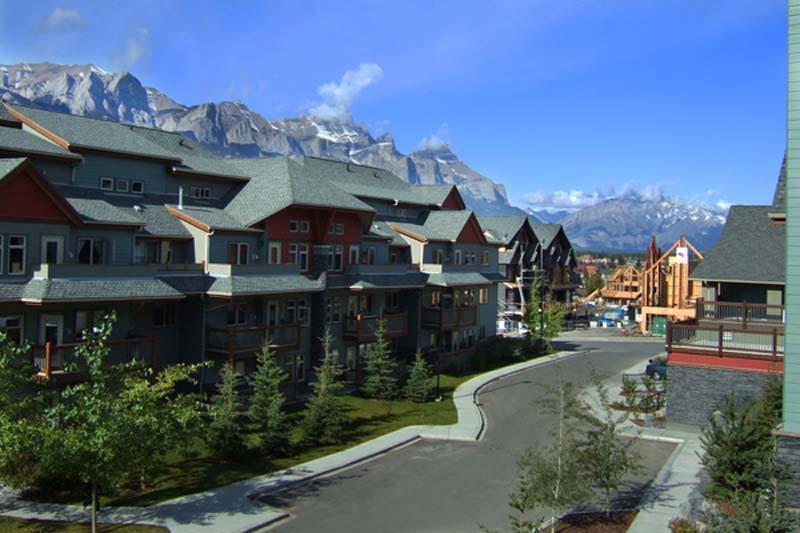 Unser Arbeitsplatz, die Lodge, Canmore, Alberta, Kanada
