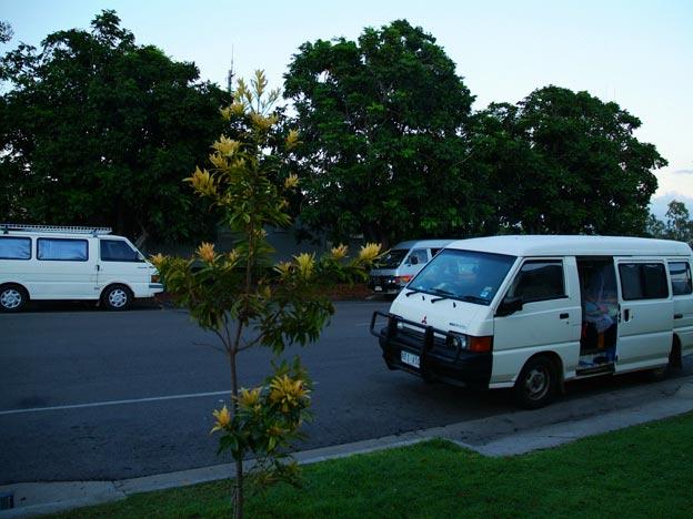 Unsere Vans am Homehill - Comfort Stop
