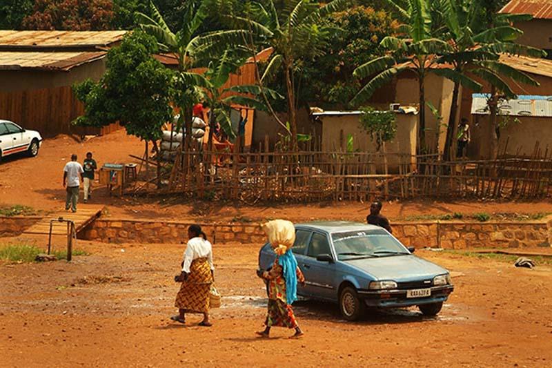 Alltagsbild, Kigali, Ruanda