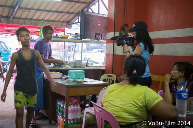 Anne filmt unser Abendbrot, Yangon, Myanmar