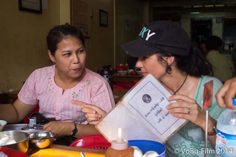 Anne fragt sich durch, Yangon, Myanmar