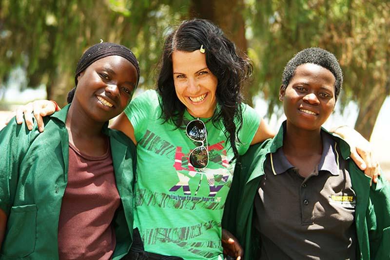 Anne macht Freunde, Gisenye, Ruanda