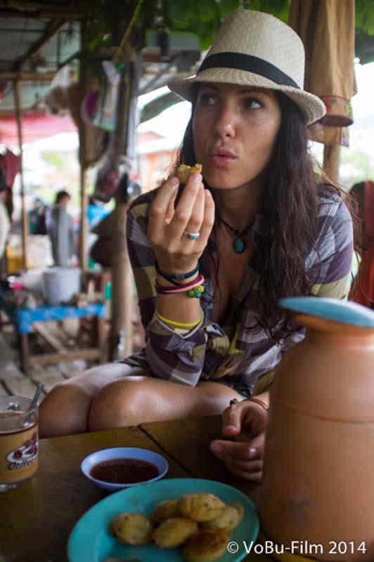 Anne schmeckt es super, Nyaungshwe, Myanmar