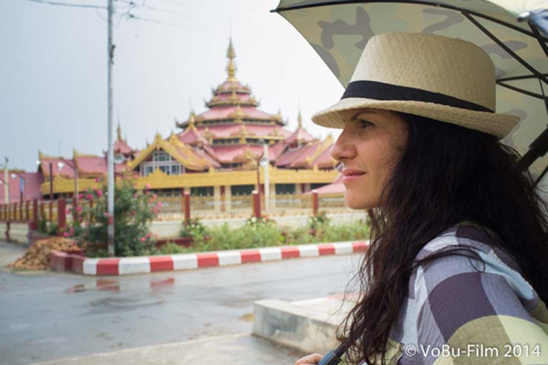 Anne vor Pagoda, Nyaungshwe, Myanmar