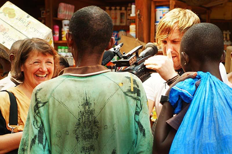 Bunki filmt Regina, Kigali Markt, Ruanda