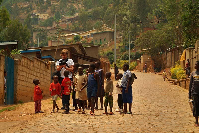 Bunki mit Kindertraube, Kigali, Ruanda