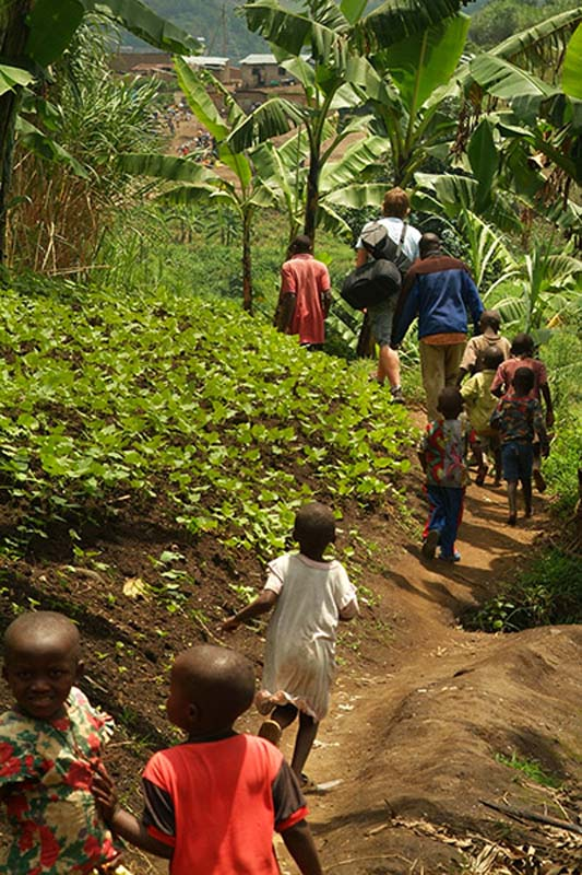 Bunki wird verfolgt, Gisenye, Ruanda