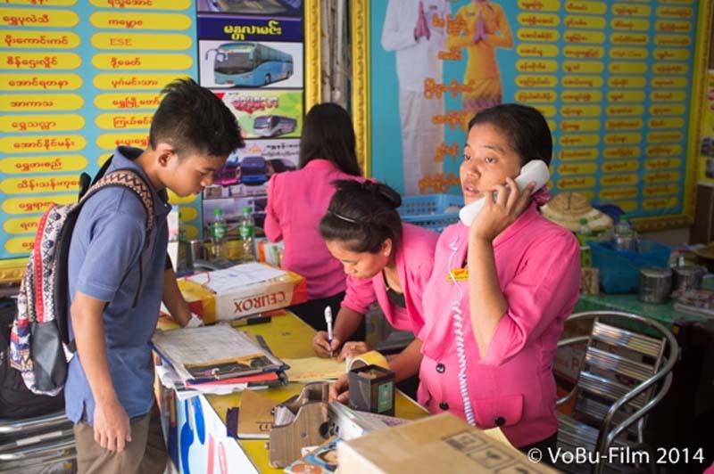 Busbahnhof, Yangon, Myanmar