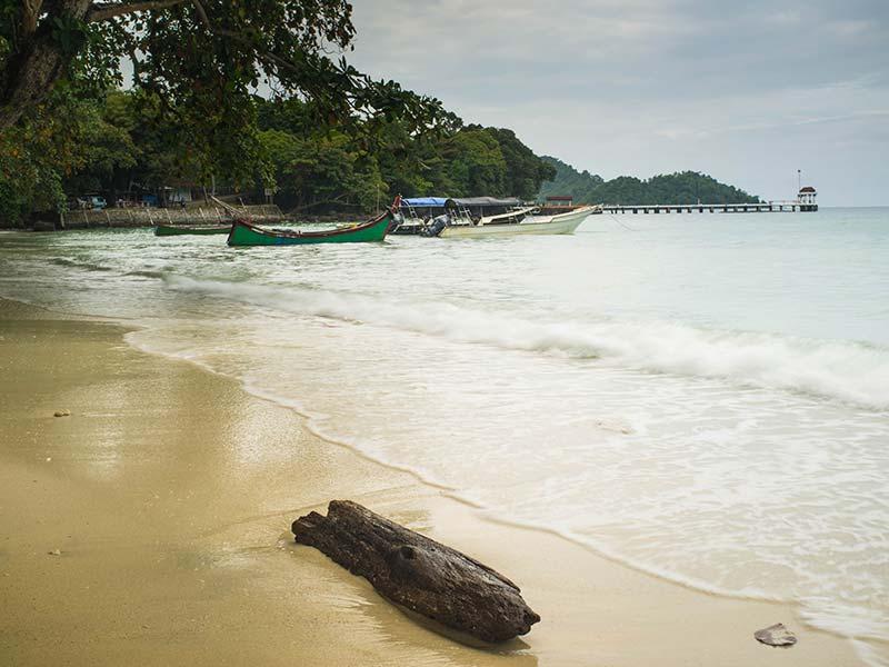 Garang Beach, Pulau Weh, Sumatra, IndonesienPulau Weh