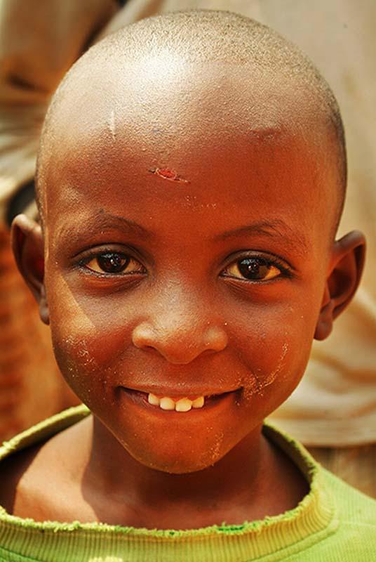Ein Junge in Kigali, Ruanda