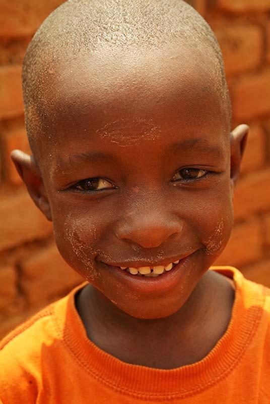 Ein Kind Kigalis, Ruanda