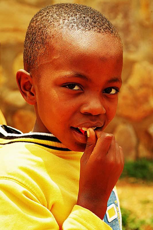 Ein Kind Ruandas, Kigali