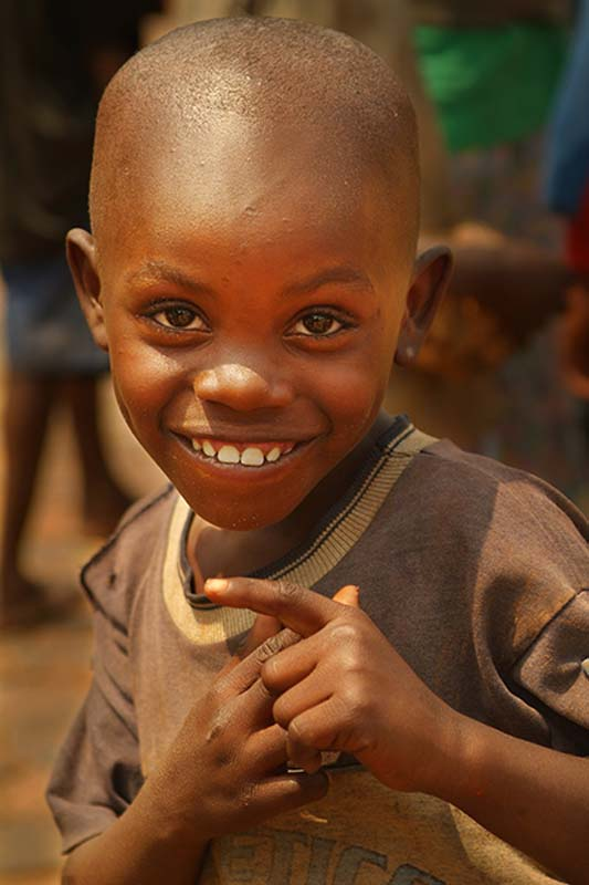 Junge macht Spass, Kigali, Ruanda
